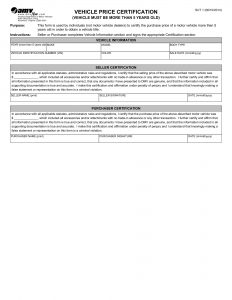 virginia vehicle bill of sale